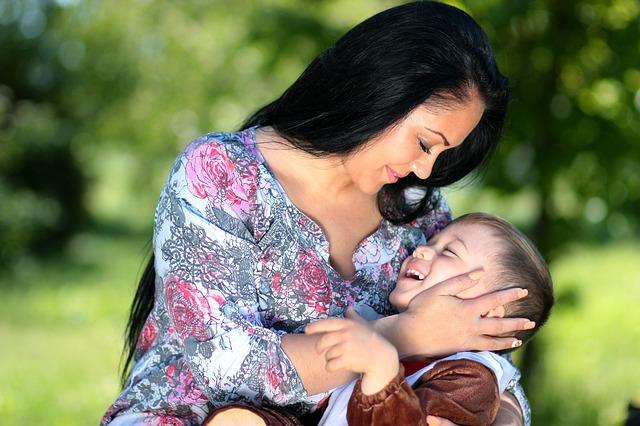 El poder de los besos de la Madre