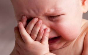 El llanto de un bebe