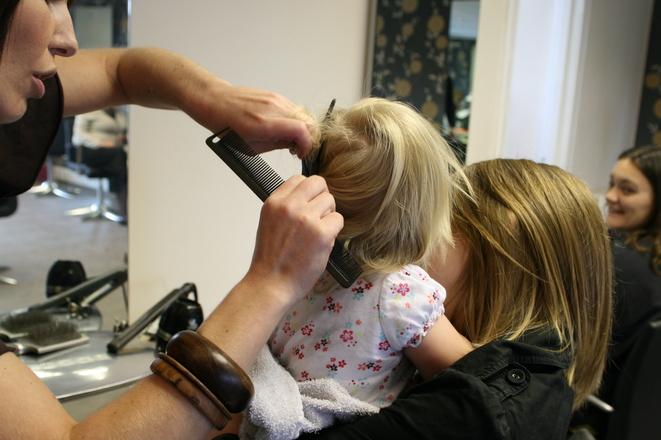 tips para cortar el pelo a tu bebé